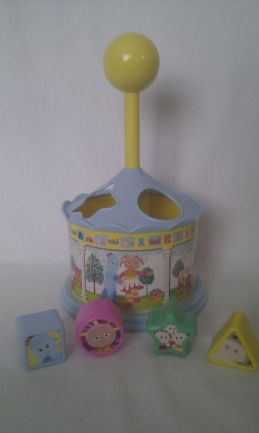 Adorable Baby My 1st 'In the Night Garden' Shape Sorter Toy